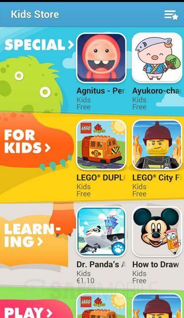 Samsung-Kids-Mode-store