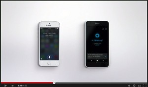 Siri vs. Cortana Happy Anniversary Commercial YouTube