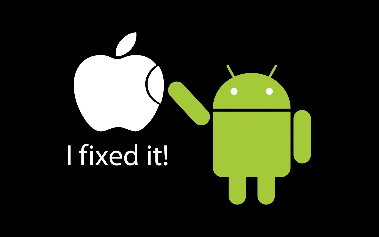 I-Fixed-MAC-Apple-Logo-Andriod-Wallpaper