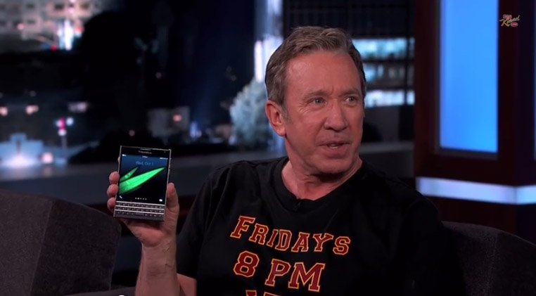 Blackberry tim allen