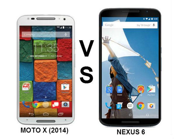 Moto X (2014) vs Nexus 6