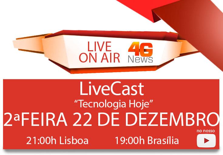 live 22 dezembro