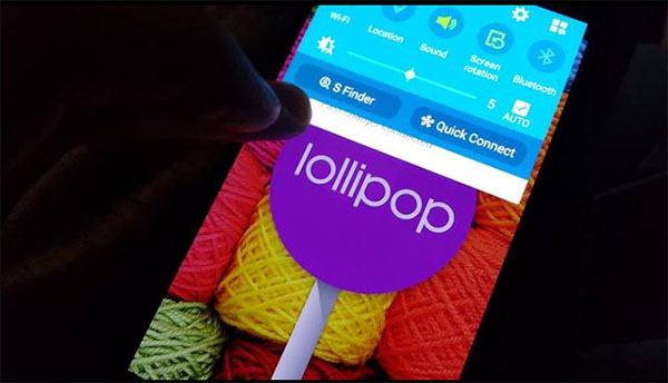 note 4 lollipop