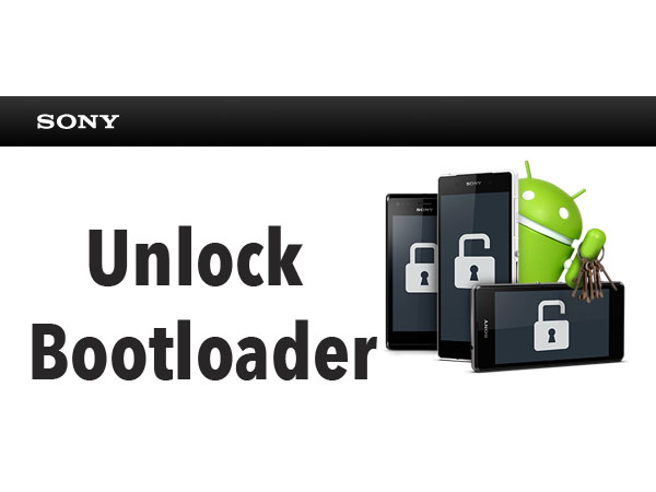 sony unlock bootloade
