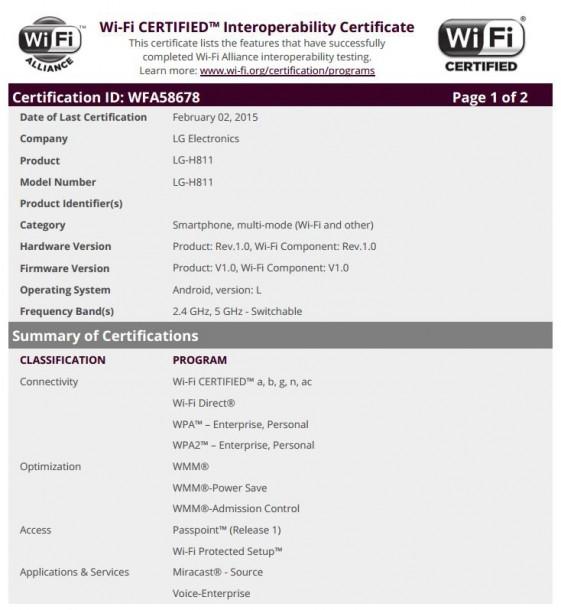 LG H811 - LG G4