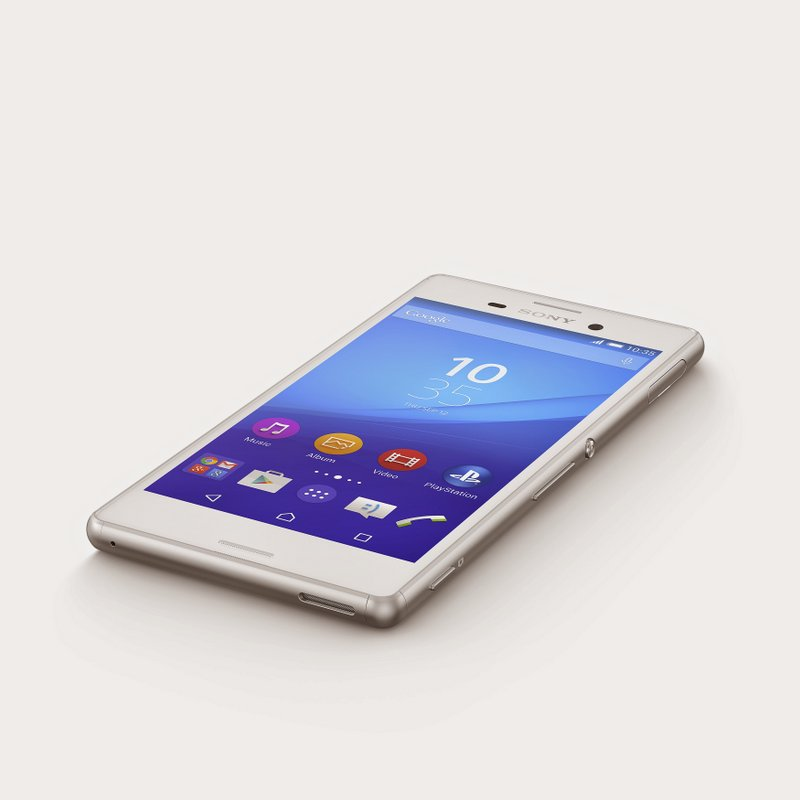 03 Xperia M4 Aq White Lying 4gnews