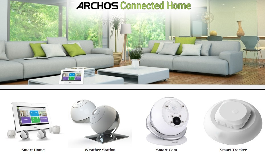 Archos-connected-objects