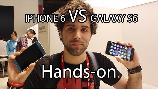 S6 VS IPHONE 6