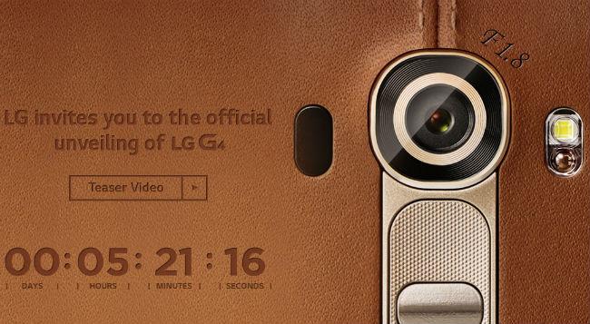 LG G4 Teaser 4G