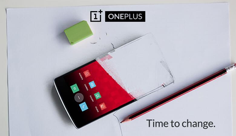 OnePlus one change