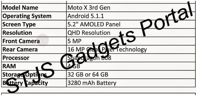 MotoX2015 leak