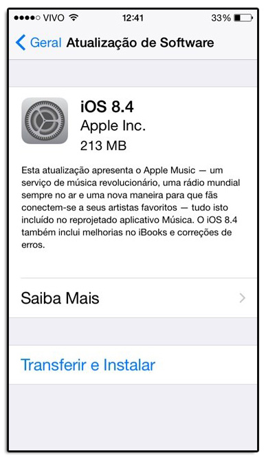 apple ios 84
