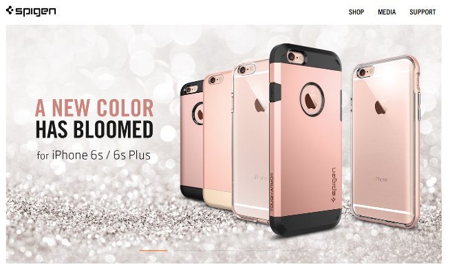 Apple iPhone 6s rosa