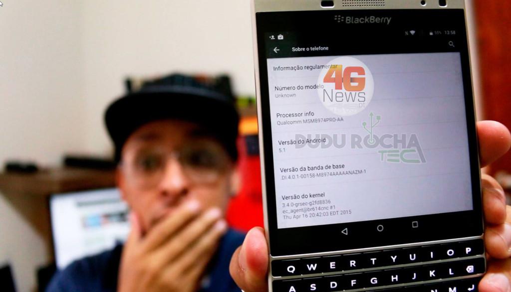 BlackBerry Passport Lollipop 5.1