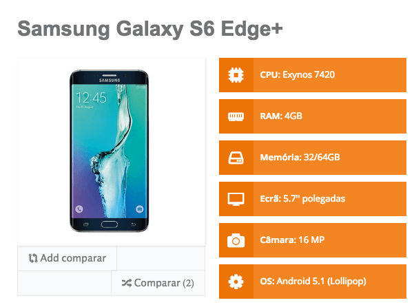 Galaxy S6 Edge plus 1