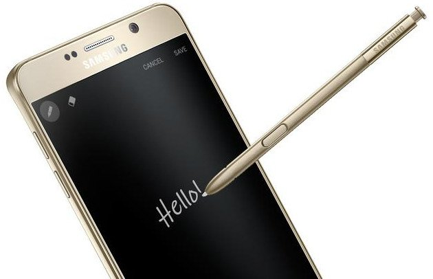 Galaxy Note 5 S-Pen