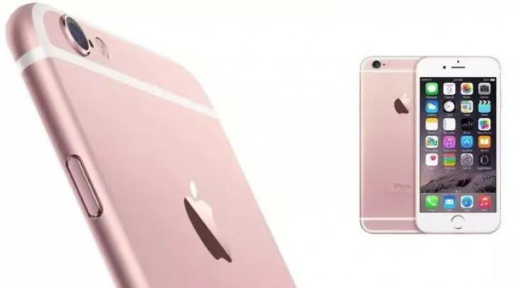 iPhone 6s rosa 2