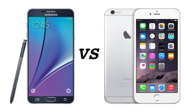 iPhone plus vs note