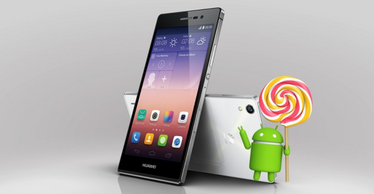 Ascend P7 Lollipop