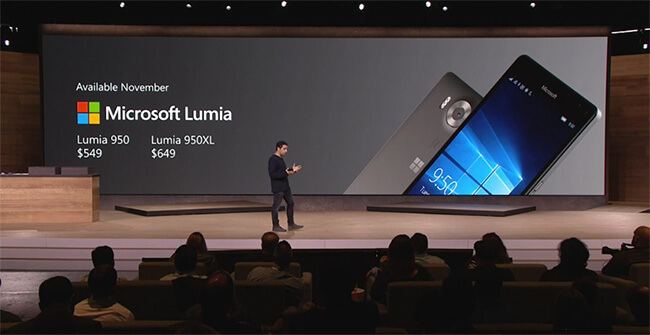 Lumia 950 pr