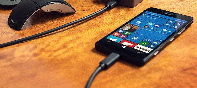 USB-Type-C Lumia 950