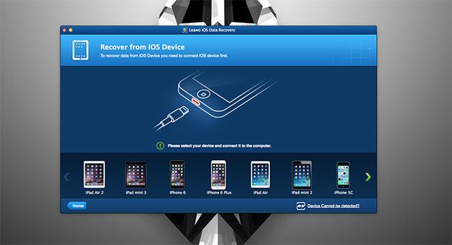 iPhone data rec