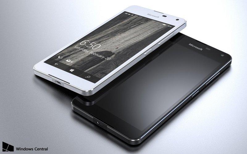 render do Lumia 650