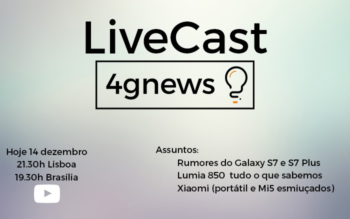 livecast 14 dezembr