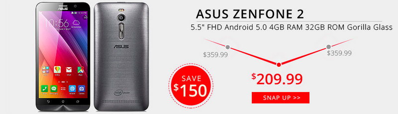 Asus Zenfone 2 Deal Alert 4gnews
