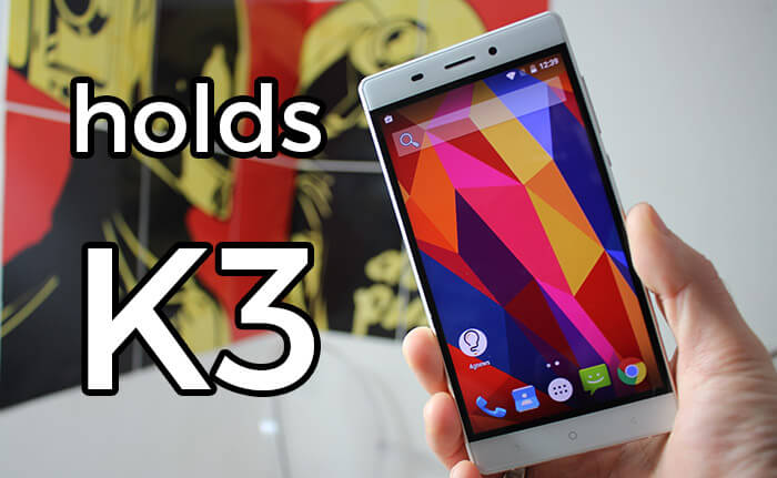 Holds k3 unboxing
