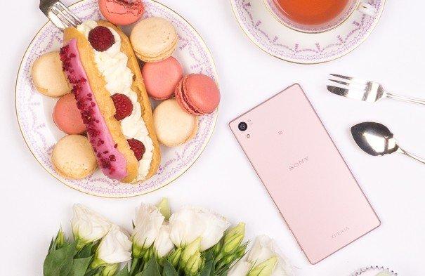 Sony Xperia Z5 Pink Sakura 4gnews 2