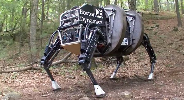 Alpha Dog Boston Dynamics