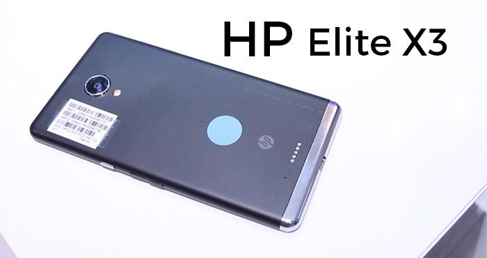 HP Elite X3 4gnews