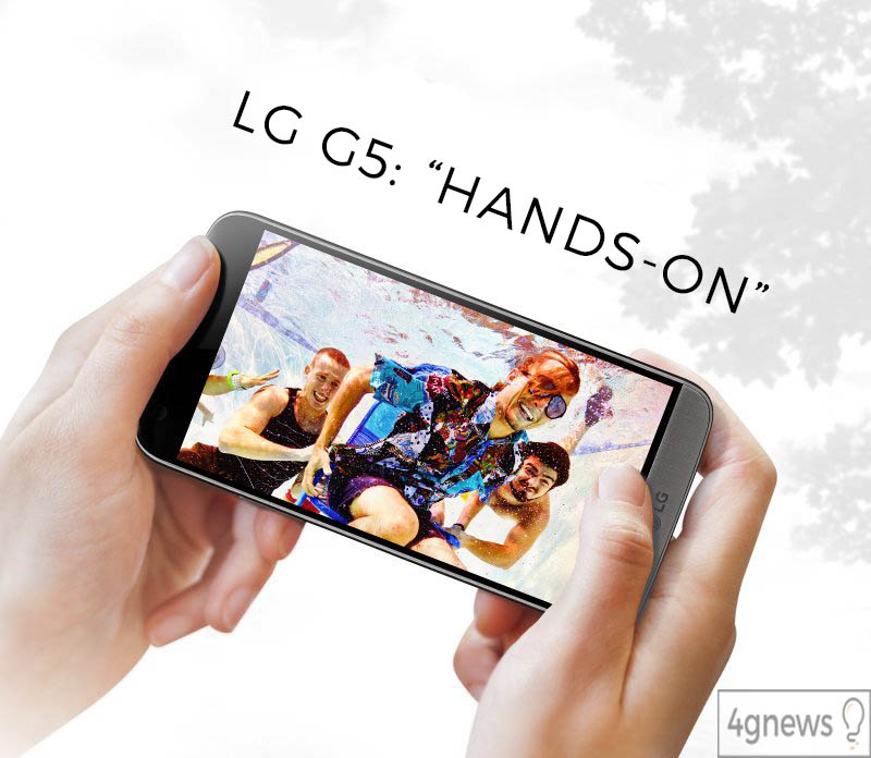 LG G5 hands on