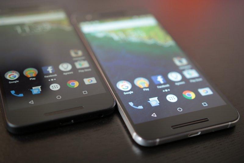 Google Huawei Nexus 6P Nexus 5X
