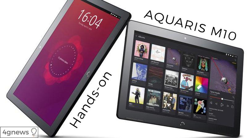 bq-aquaris-m10-ubuntu hands on