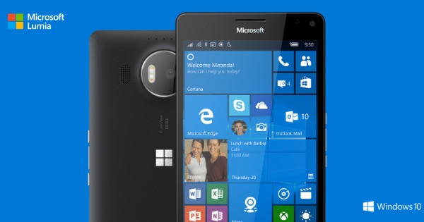 Windows 10 Mobile Microsoft
