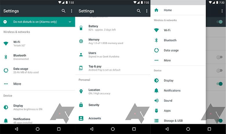 Android N leak police