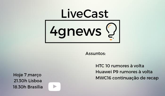 Livecast 7 março