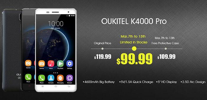 OUKITEL K4000 PRO PROMO