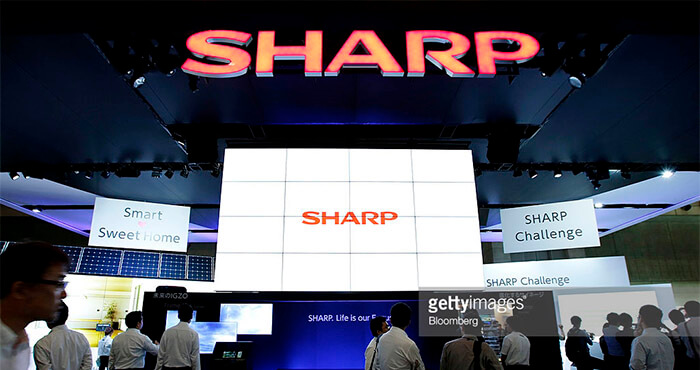 Sharp booth