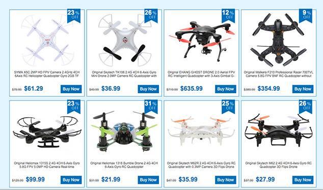 drones promoção