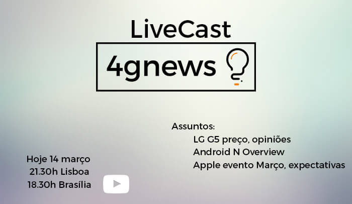 live cast 14 março