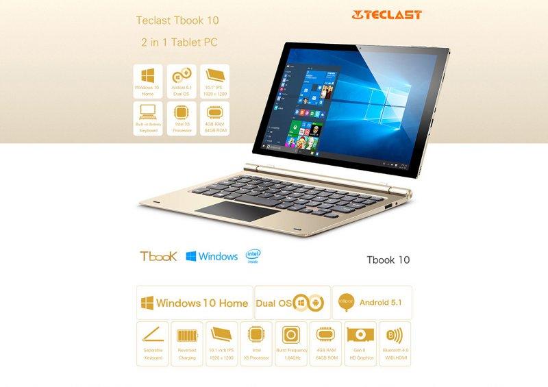 Teclast Tbook 10 8