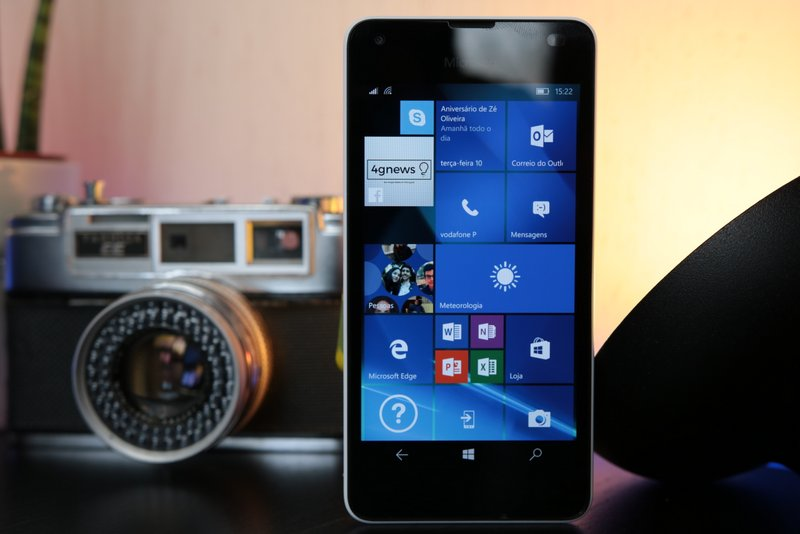 Lumia 550 Windows 10 4gnews