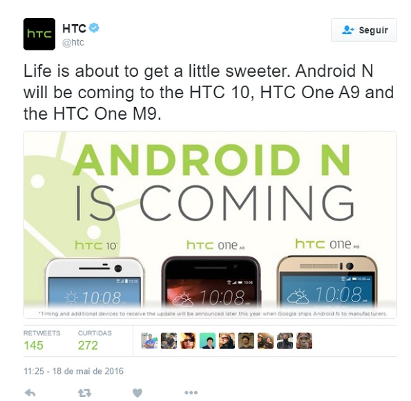 android-n-htc-devices-tweet