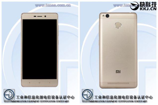 Xiaomi redmi 3A 2