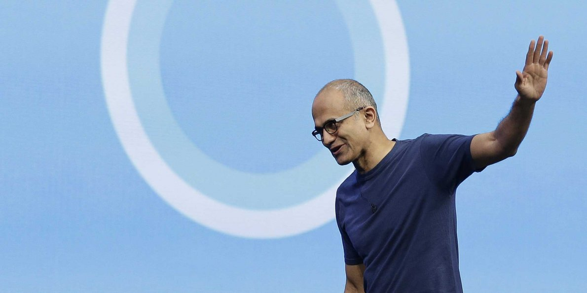 Microsoft Windows 10 Surface Satya Nadella Google