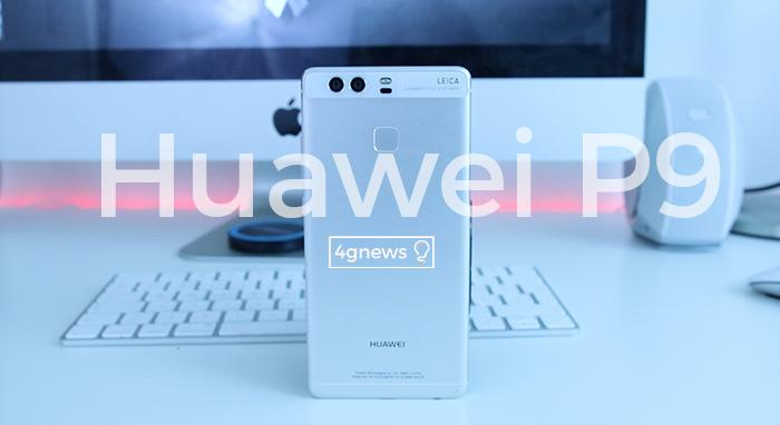 huawei P9 front 4gnews