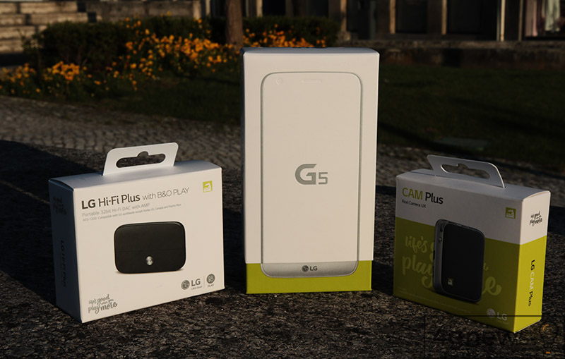 LG G5 unboxing 4gnews